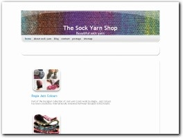 http://www.sockyarnshop.com website