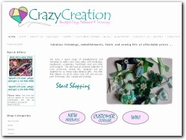http://www.crazycreation.co.uk website