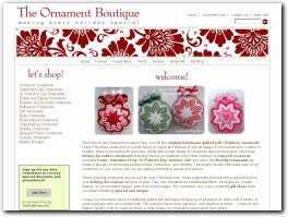 http://www.ornamentboutique.com website