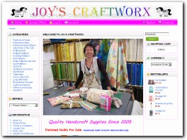 http://www.joyscraftworx.com.au website